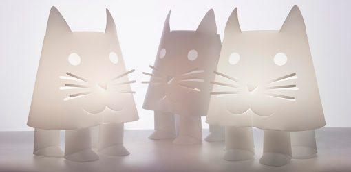 bordlampe barnelampe zoolight katt