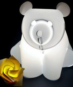 barnelampe zoolight bjørn