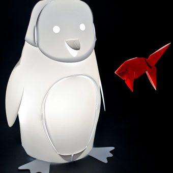 barnelampe pingvin zoolight